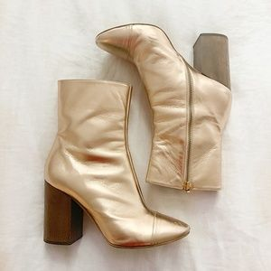 Brother Vellies Rose Gold Bianca Boot